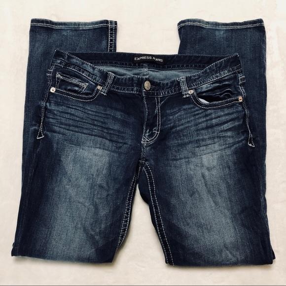 Express Denim - Express Stella Barely Boot Jeans